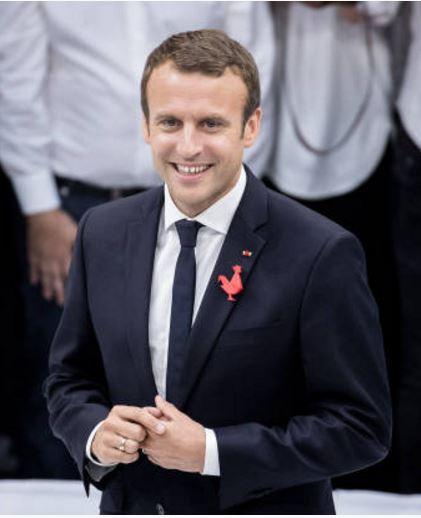 EMMANUEL MACRON PRESIDENT DE LA REPUBLIQUE FRANCAISE Dd10