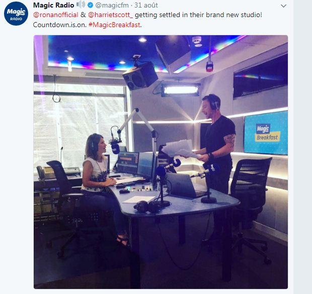 RADIO MAGIC BREAKFAST SHOW  AVEC RONAN ET HARRIET  SCOTT Radioc10
