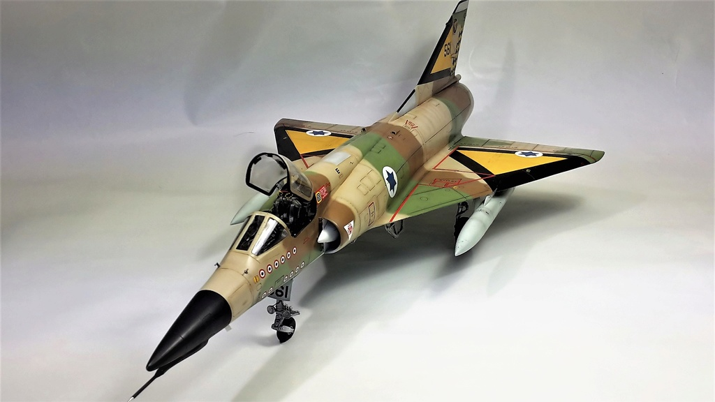 "Mirage 5J "" nesher"" 1/32 6bis10"