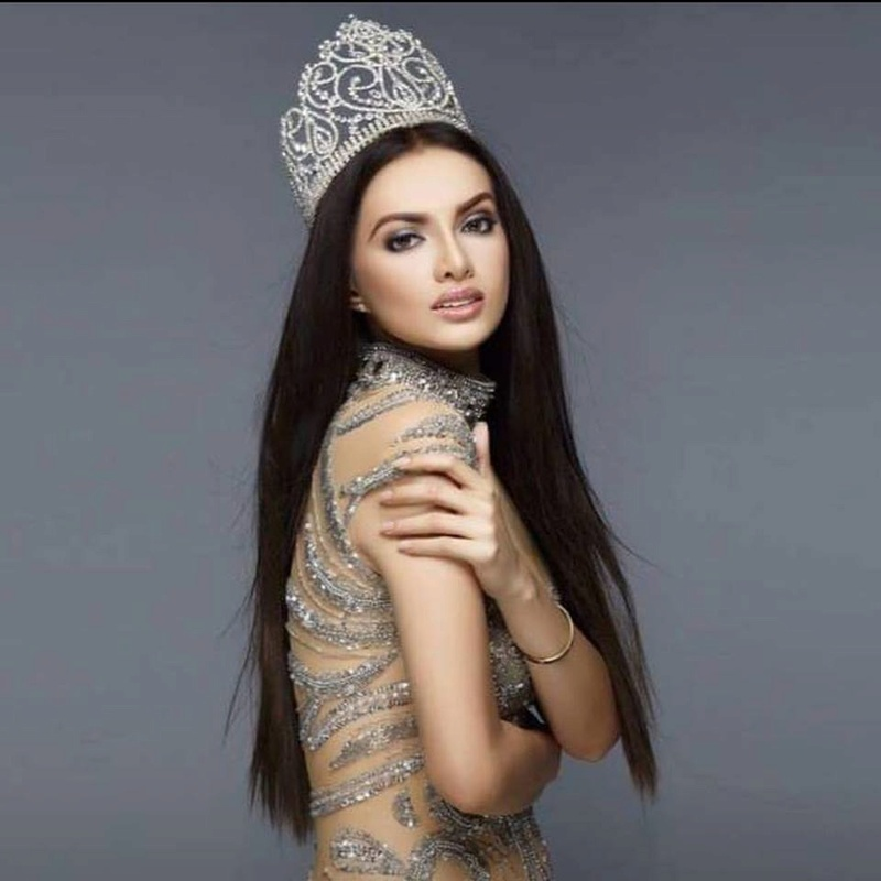 Toni Alyessa Hipolito of the Philippines is the newly proclaimed 90th Miss Globe International Queen! 21270910