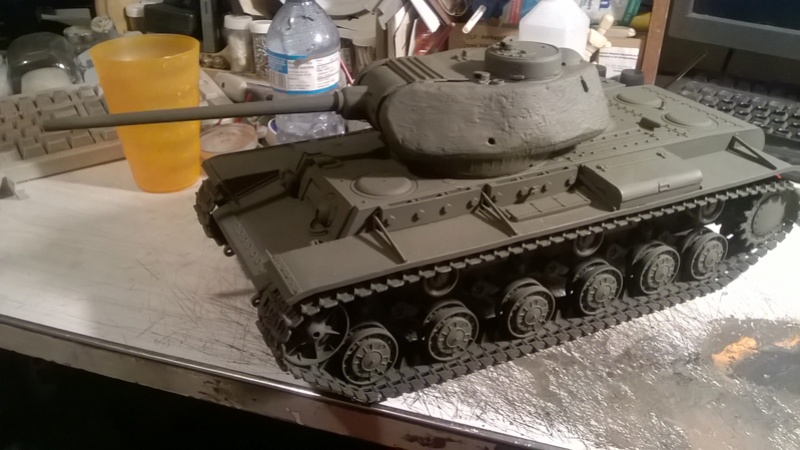 Making a KV-85 Wp_20140