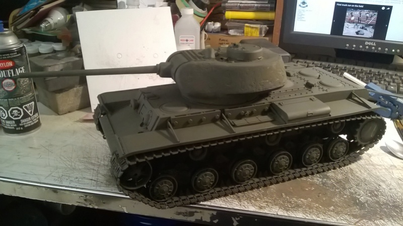 Making a KV-85 Wp_20146