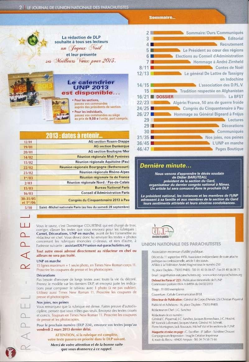 DEBOUT LES PARAS (DLP) revue de l'Union Nationale des Parachutistes Dlp_so10