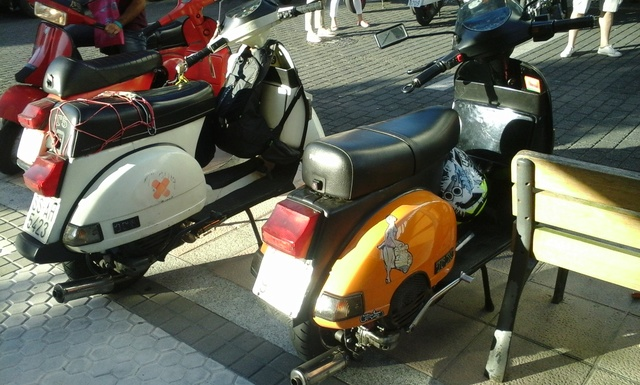 Customizadas vs Vespas y Lambrettas 17-6-2017 06610