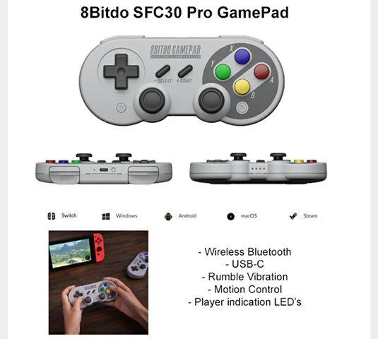 8Bitdo Sfc30 Pro sur Belchine.net 21244810