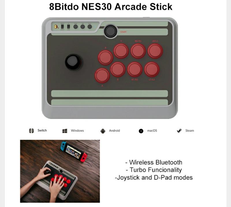 8Bitdo Nes30 Stick Arcade Img_2010