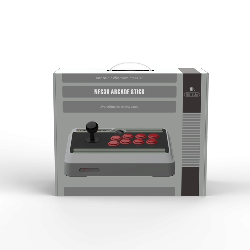 8Bitdo Nes30 Stick Arcade Mmexpo15