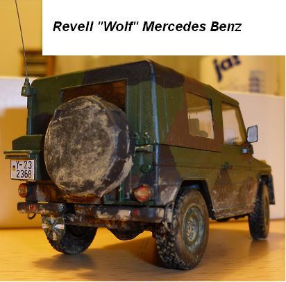 Wolf Mercedes Benz  Revell 1:35 Wolf_210