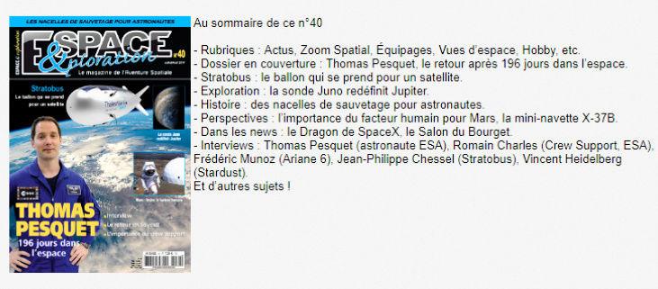 Espace & Exploration n°40 - Les nacelles de sauvetage Ee_4010
