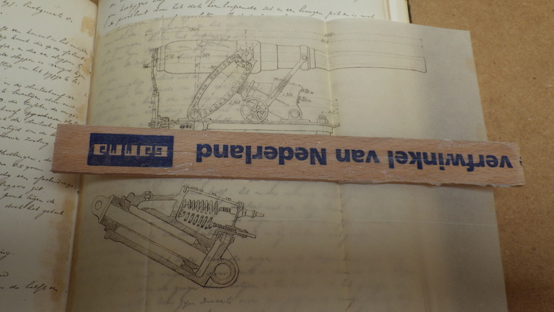 Manuscript (19 iéme siécle)Hollandais en 8 volumes traitant de l'artillerie. Rimg7440