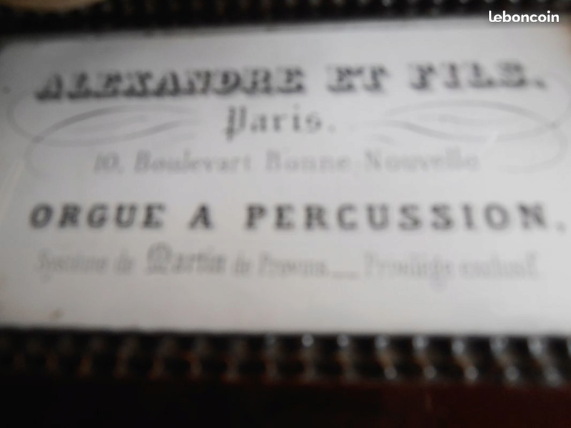 Un Alexandre très ancien à percussion Alexan12