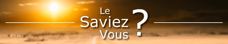 LE SAVIEZ-VOUS ?? Lsv10
