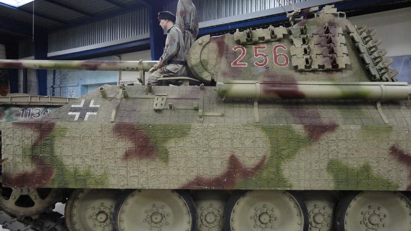Tiger II, essais cam fin de conflit Visite73