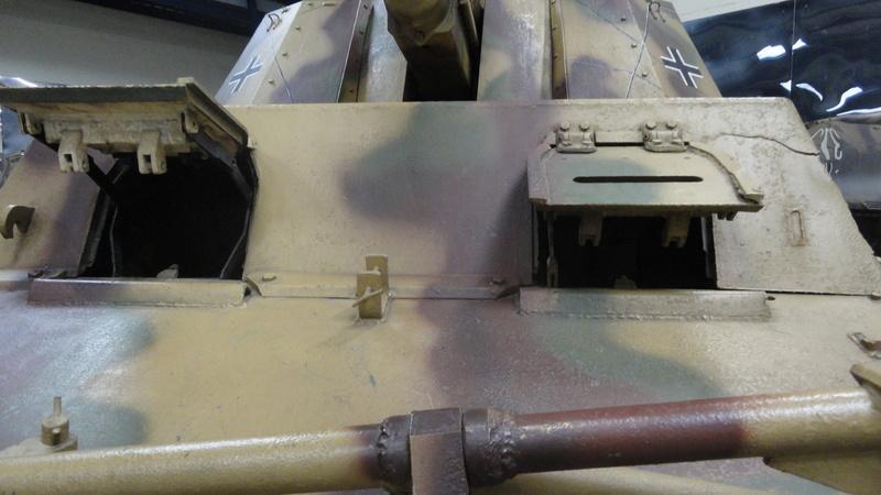 Tiger II, essais cam fin de conflit Visite74