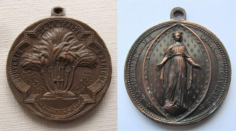 Médaille Notre-Dame de la Délivrance XIX èm Souven10