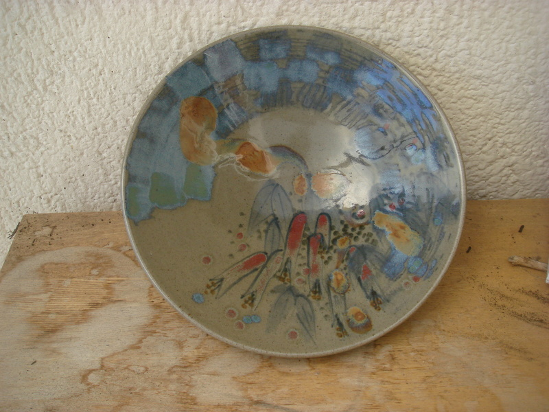 David Schlapobersky & Felicity Potter, Bukkenburg Pottery, SA - DSFP mark Copied11