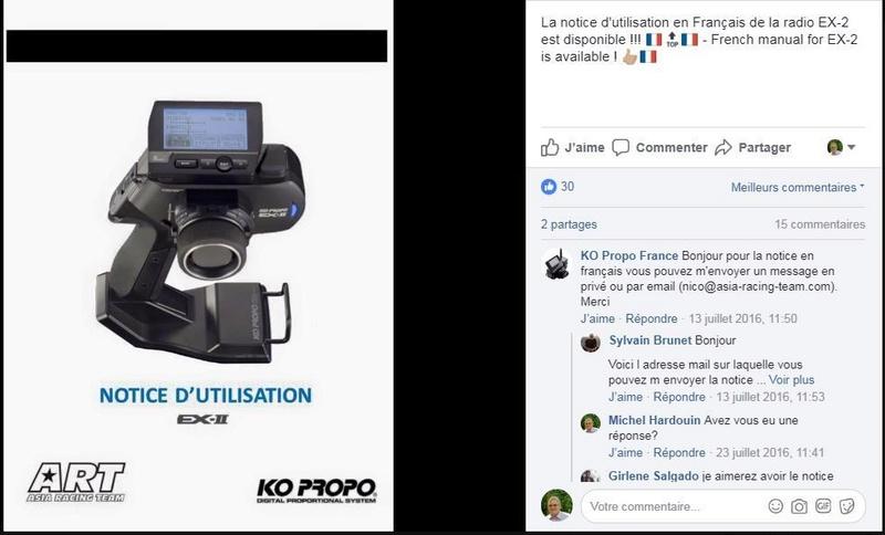 Notice Française KO PROPO EX II Nouvel11