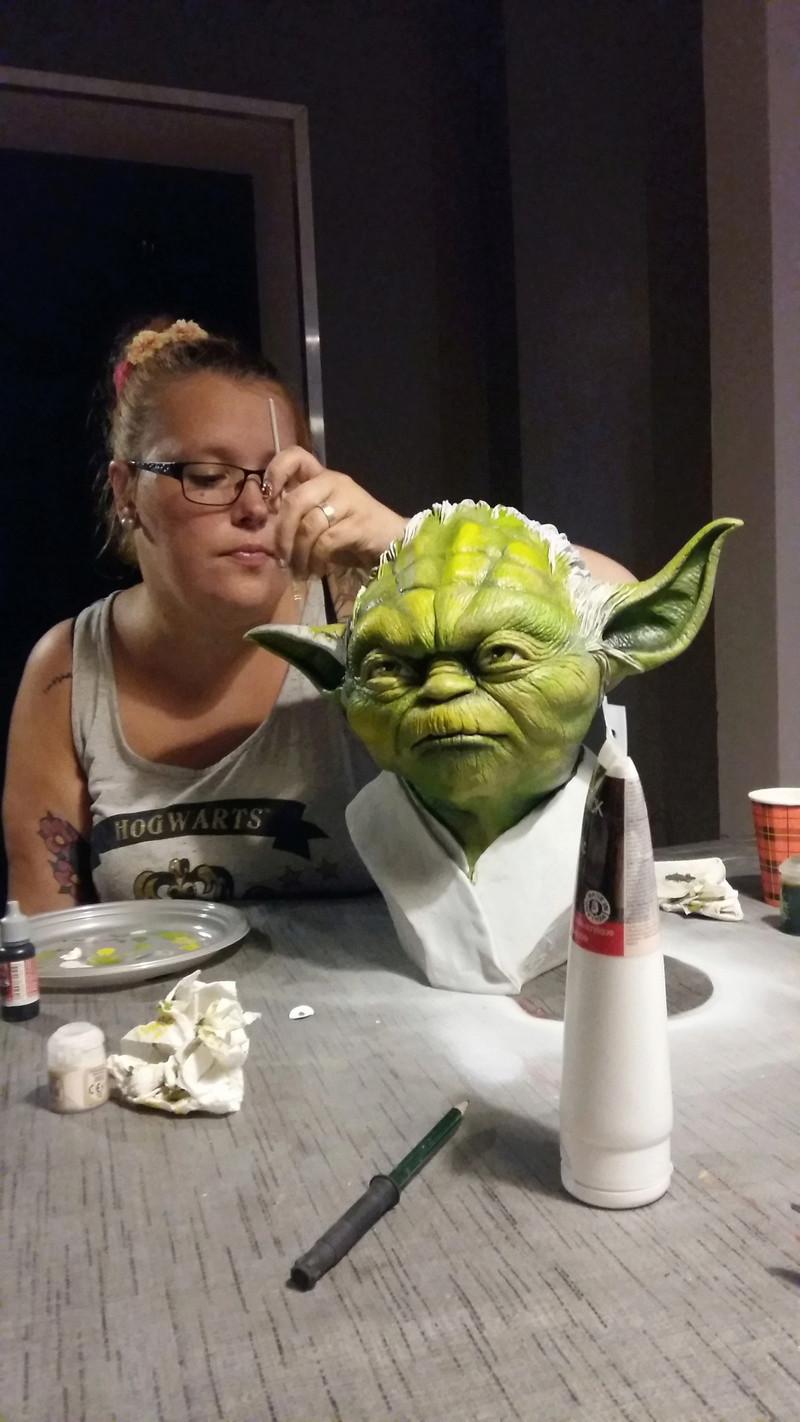 Yoda épisode III échelle 1 Art10
