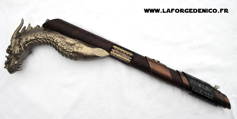 La Forge de Nico - Sabre Canne Dragon Dsc_0129