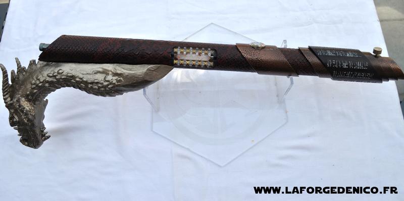 La Forge de Nico - Sabre Canne Dragon Dsc_0134