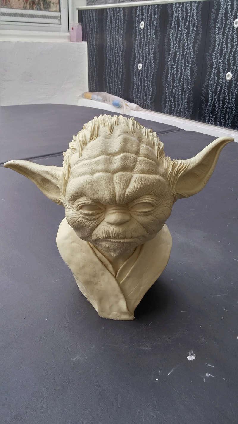 Yoda épisode III échelle 1 Yoda10
