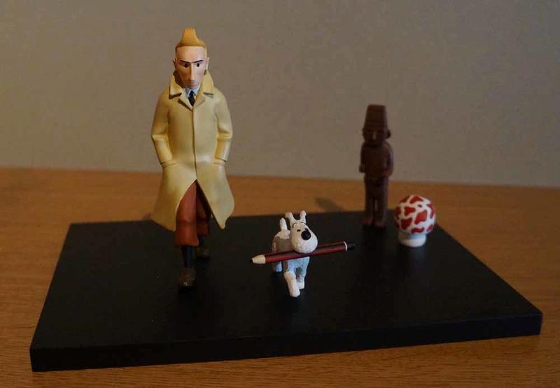 mise en peinture de figurines Tintin - Page 6 Dsc00712
