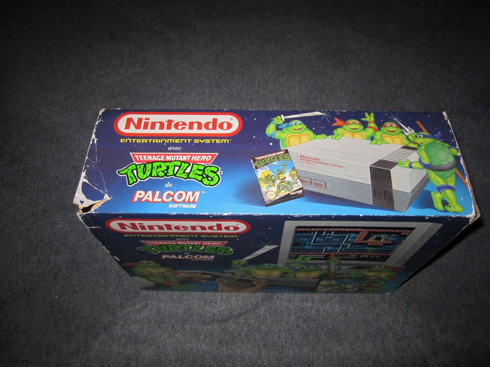 [ESTIM] - NES pack turtles + 3 jeux Img_2125