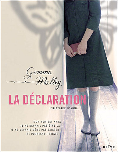 la déclaration Gemma Malley Daclar11