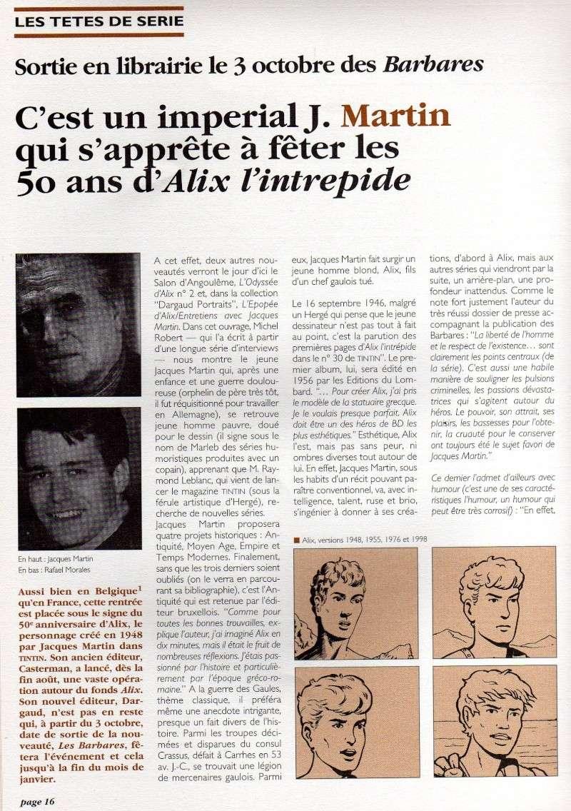 Interview, fanzines et articles divers sur Jacques Martin - Page 4 Lefran10