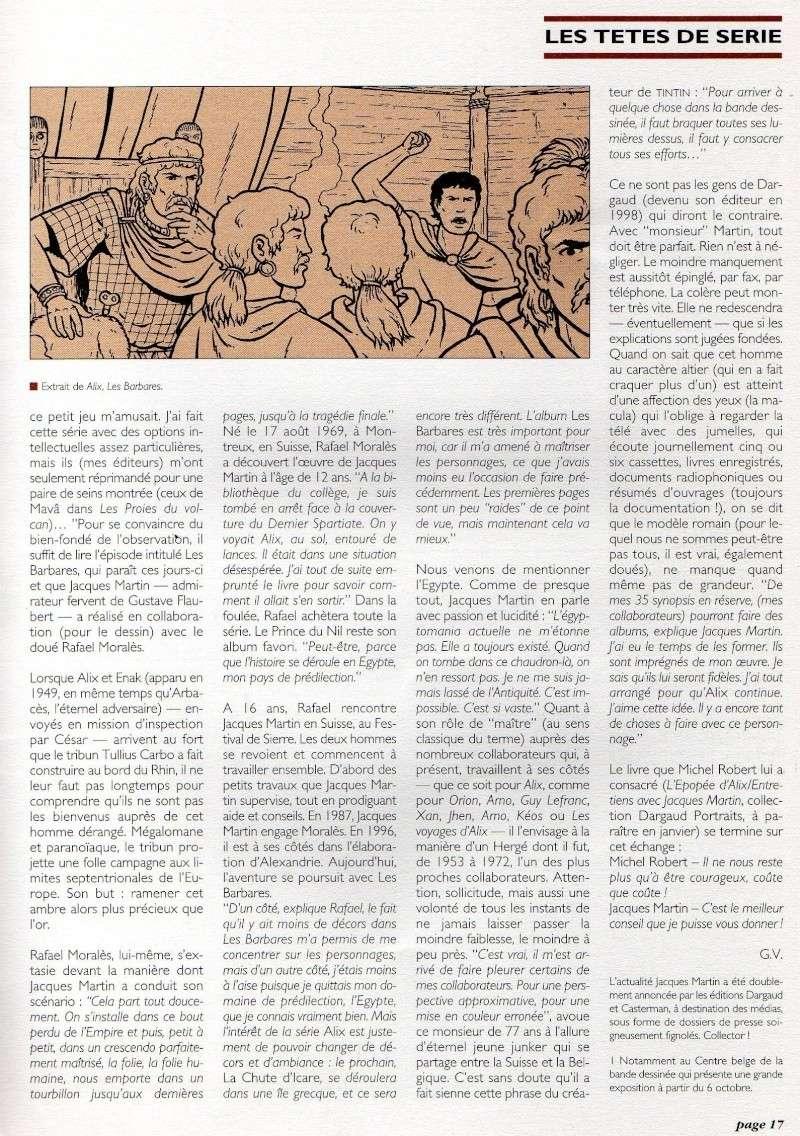 Interview, fanzines et articles divers sur Jacques Martin - Page 4 Lefran11