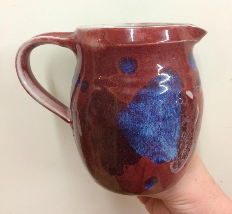 Flambe glazed jug, 69 mark - Chris Latham?  Img_0315