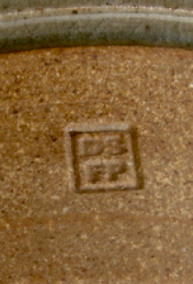 David Schlapobersky & Felicity Potter, Bukkenburg Pottery, SA - DSFP mark Img_1010