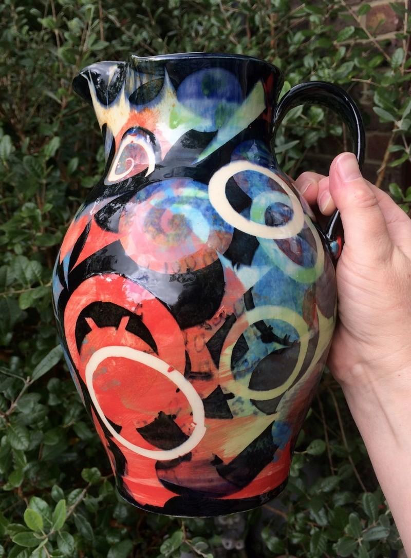 Pru Green, Gwili and Wivenhoe Potteries Img_8224