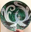 Bird plate by Edno, Denmark Img_6820