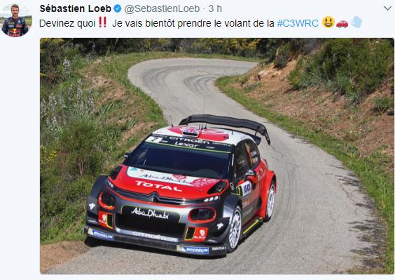 WRC He's back ! :-) 110