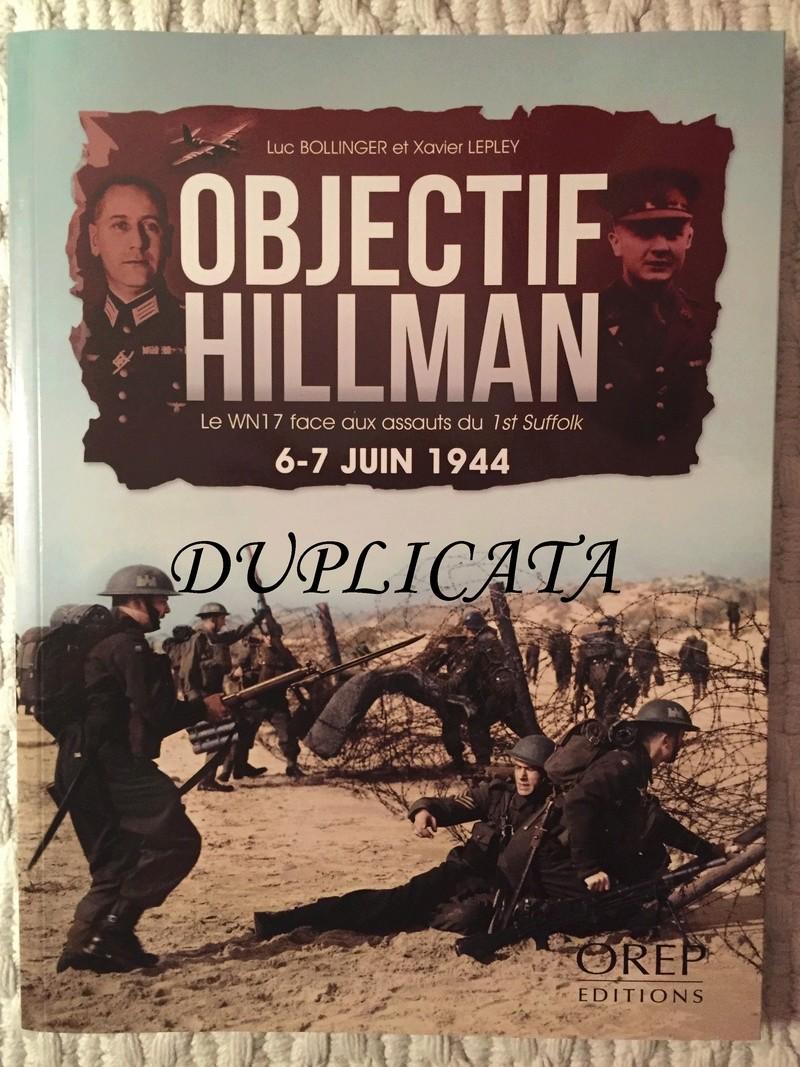 Objectif Hillman - Le WN 17 face aux assauts de la 1st Suffolk - Editions OREP Img_6613