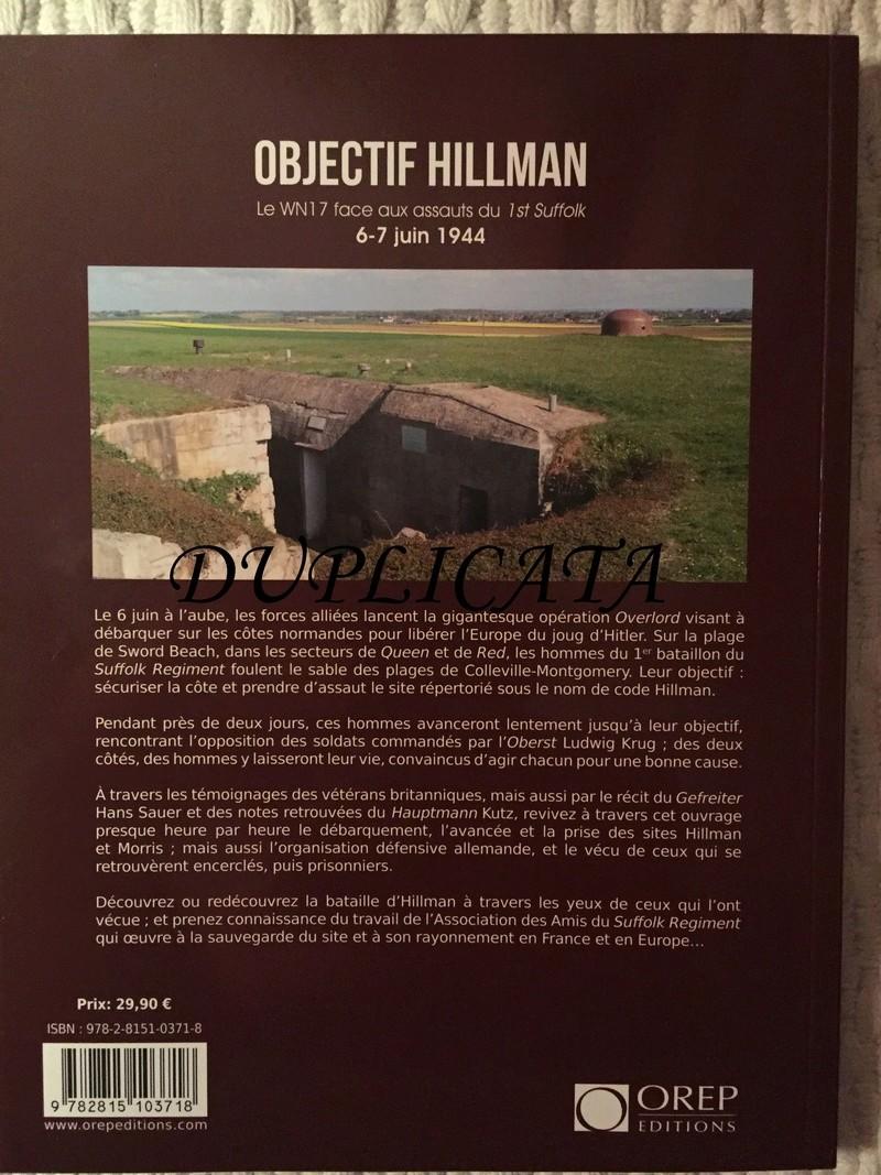 Objectif Hillman - Le WN 17 face aux assauts de la 1st Suffolk - Editions OREP Img_6614