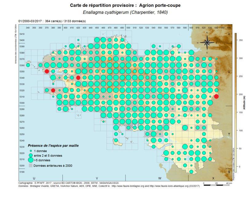 cartographies d'espèces très communes à compléter Enalla11