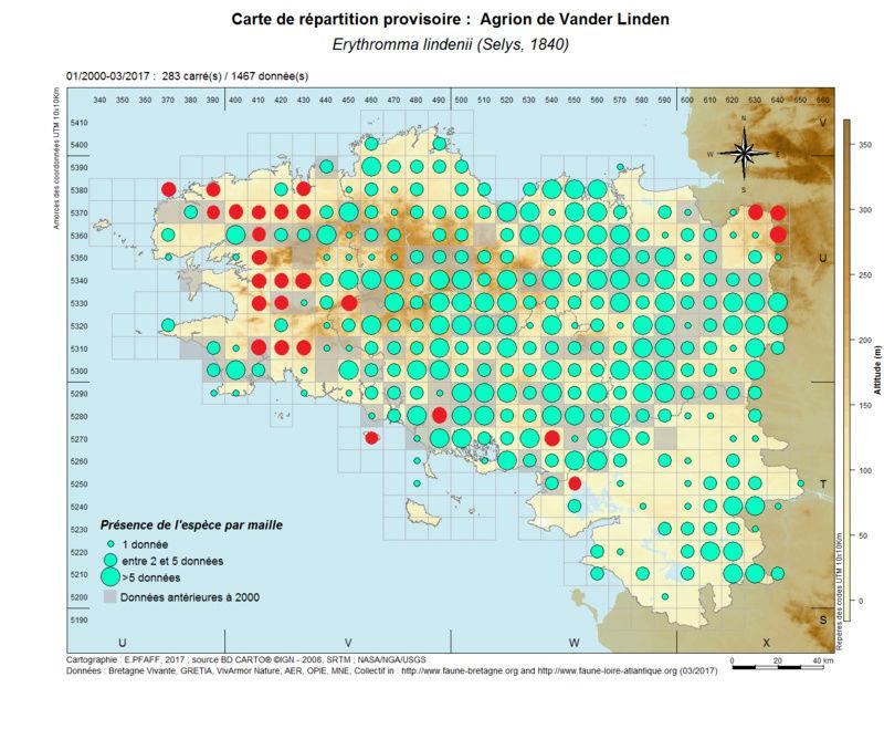 cartographies d'espèces très communes à compléter Erythr28