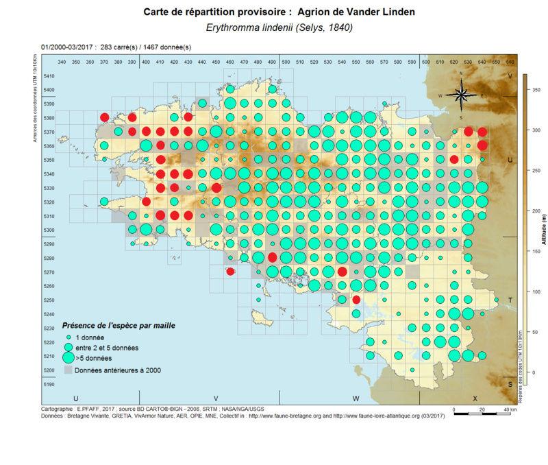 cartographies d'espèces très communes à compléter Erythr32