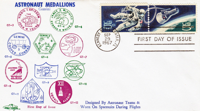 Philatélie Spatiale USA - 1967 - Projet Gemini 1967_010