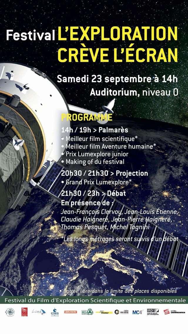 Festival l'exploration crève l' écran - 23 septembre 2017 / Cité des Sciences et de l'Industrie à La Villette 21762310