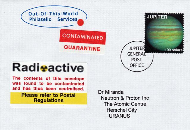 Courrier Interplanétaire - Courrier Galactique Fantai10