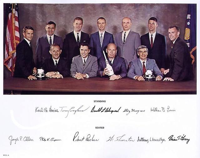 50ème anniversaire de la sélection du Groupe 6 de la NASA Groupe10