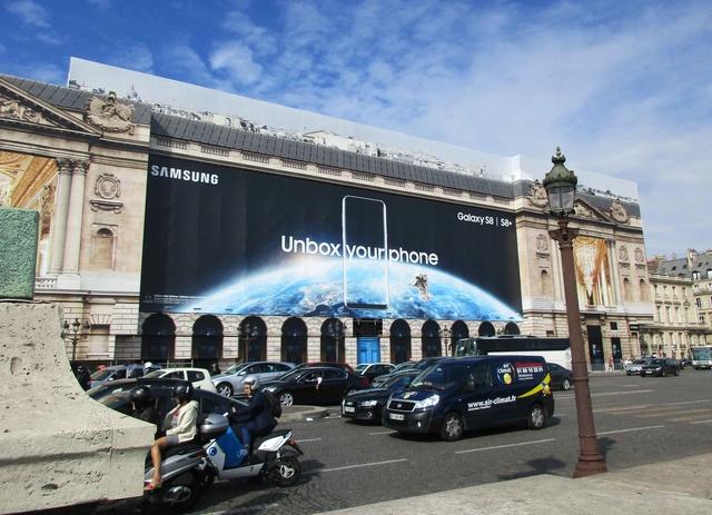 L'Hôtel de la Marine à Paris ''s'offre'' une publicité spatiale pour sa rénovation Img_0115