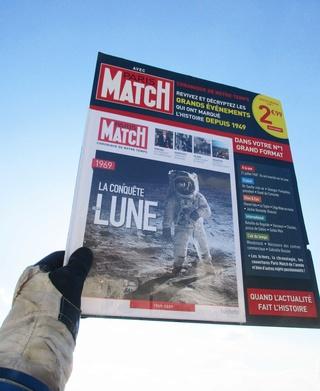 Paris-Match 60 ans d'actualités 1949 - 2009 / Collection Fascicules Hachette / N° 1 année 1969 - La Conquête de la Lune Img_1310
