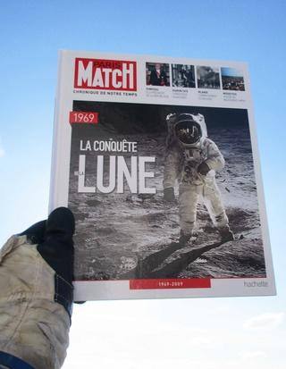 Paris-Match 60 ans d'actualités 1949 - 2009 / Collection Fascicules Hachette / N° 1 année 1969 - La Conquête de la Lune Img_1311