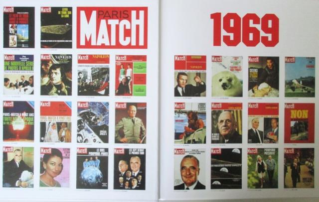Paris-Match 60 ans d'actualités 1949 - 2009 / Collection Fascicules Hachette / N° 1 année 1969 - La Conquête de la Lune Img_1312