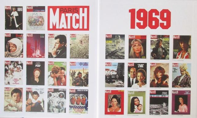 Paris-Match 60 ans d'actualités 1949 - 2009 / Collection Fascicules Hachette / N° 1 année 1969 - La Conquête de la Lune Img_1313