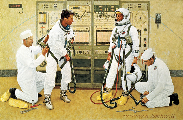 "Disparition de Joe Schmitt (1916-2017), ""Technician Spacesuit"" de la NASA Norman10"